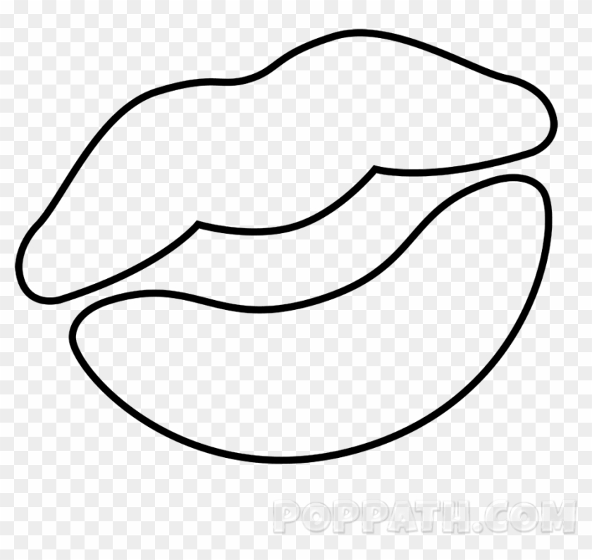 Colossal Kissing Lips Coloring Pages - Star Of David - Free ...
