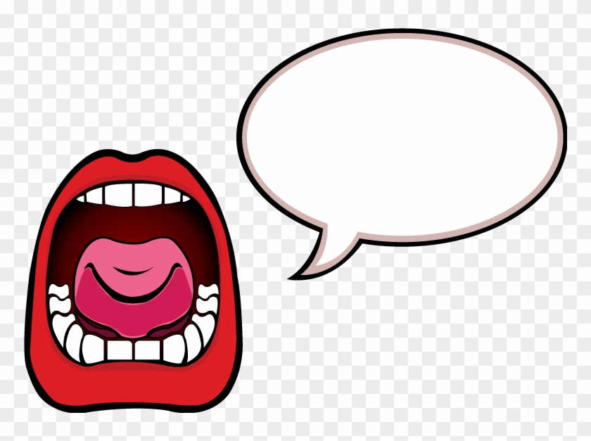 Talking Mouth Clipart - Scream Vector #165129