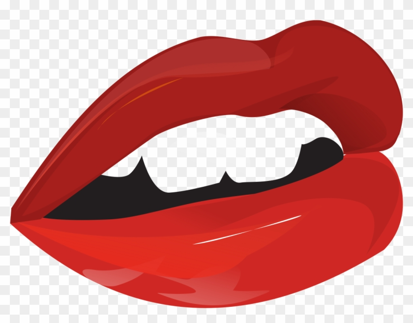 Mouth - Lips Talking Clipart #165231