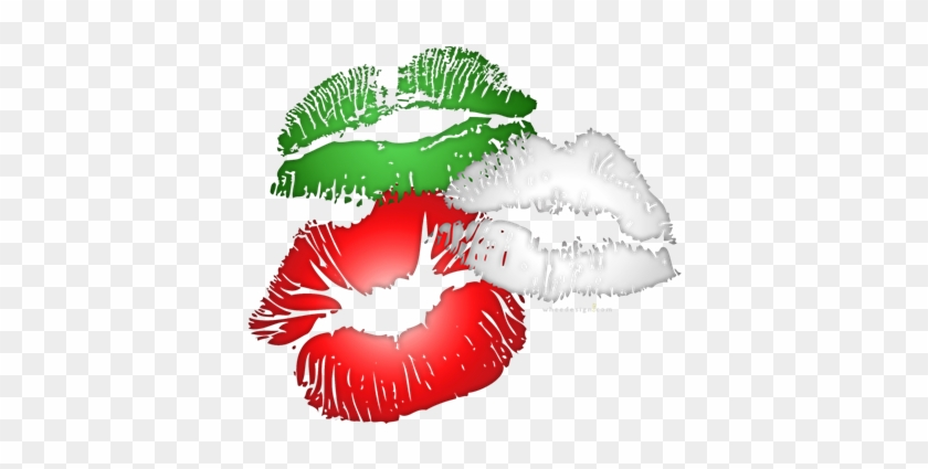 Italian Kissing Lips - Kiss Me I M Irish Lips #165286