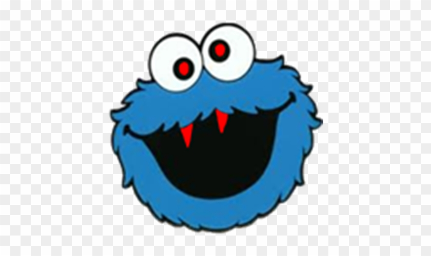 See Here Free Monster Clipart Black And White Pictures - Cookie Monster Clipart Free #165452