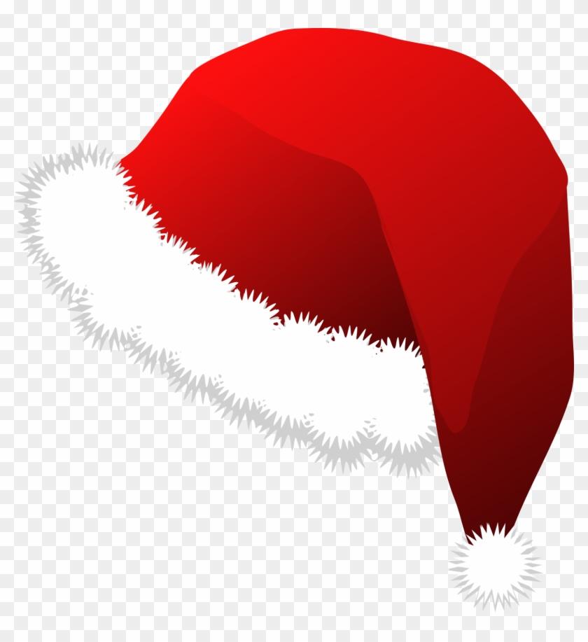 Clipart Bonnet De Noel - Santa Claus Hat Clipart #165704