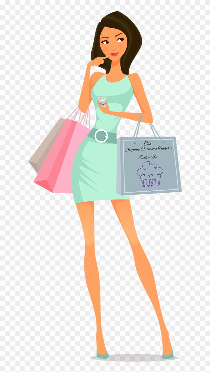Satisfied Customer Fille Shopping Free Transparent Png Clipart Images Download