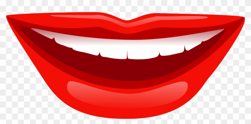 Smiling Lips - Lips Smile Png #166024