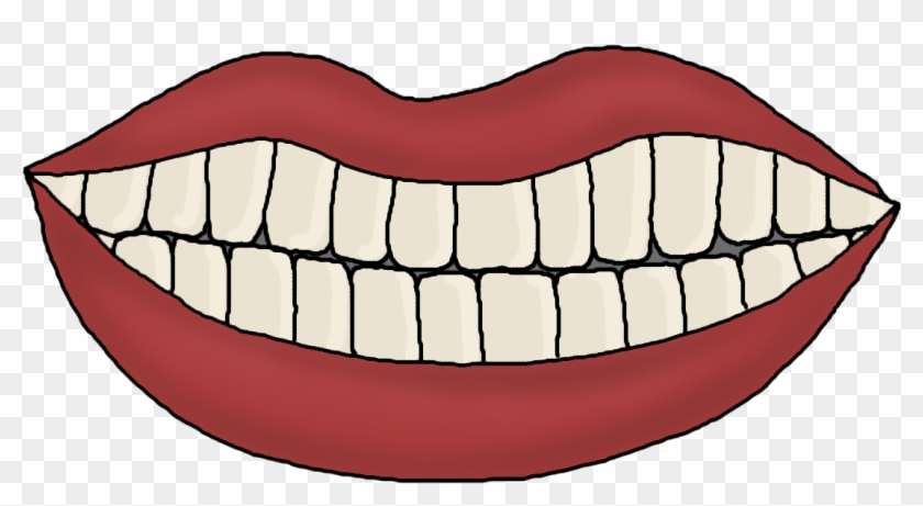 Cartoon Teeth - Mouth And Teeth Template - Free Transparent PNG ...