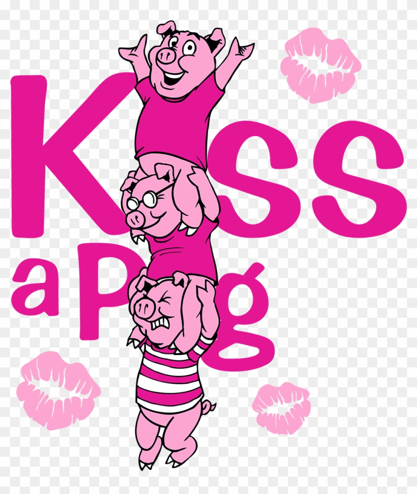 Kiss A Pig @ Md State Bbq Bash - Little Mermaid/frog Prince/three Little Pigs - Cd #166352
