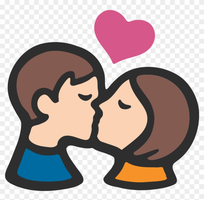 Boy and girl kiss stock photo. Image of couple, lady, girl 3206730.