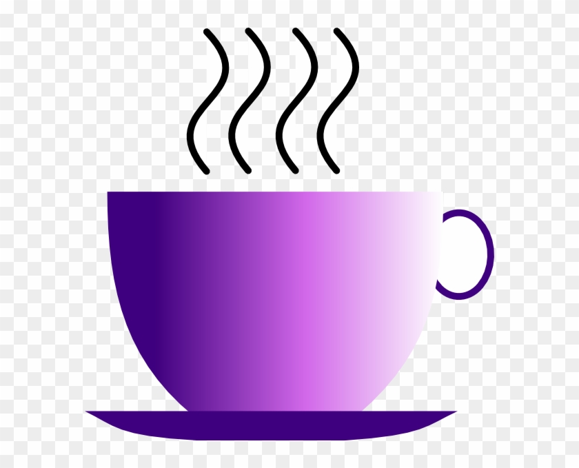 Beverage Clipart Hot Beverage Hi - Purple Coffee Cup Clipart #166761