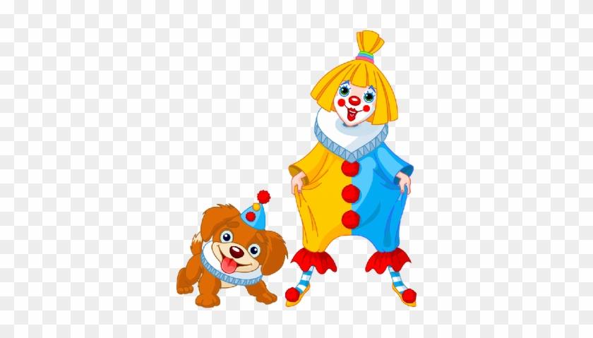 Puppy Dogs Cute - Cartoon Girl Clown #166843