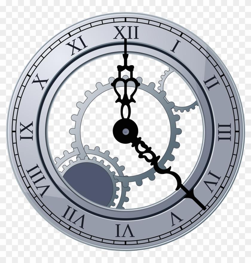 Clock Face Images Clip Art - Broken Clock Png #166873