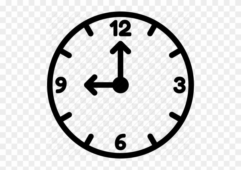 9 O Clock Clipart Ndash 101 Clip Art Clock 3 O Clock Free Transparent Png Clipart Images Download