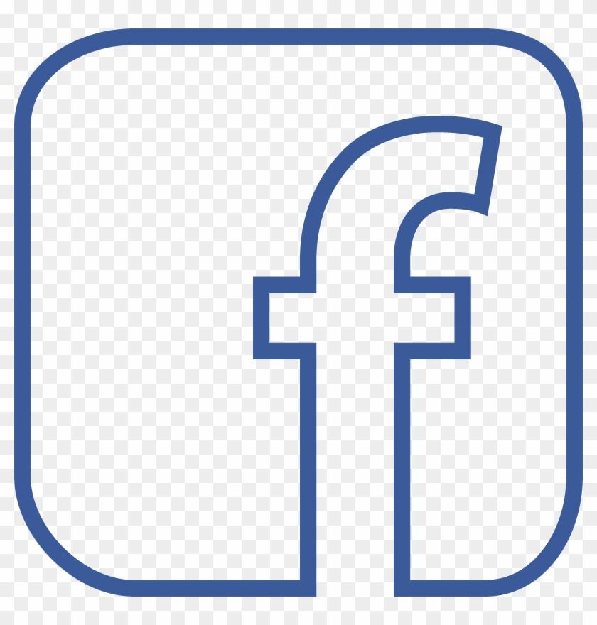 Facebook F Logo Png Home Find Us On Facebook - Facebook Logo Png Transparent Background #167006