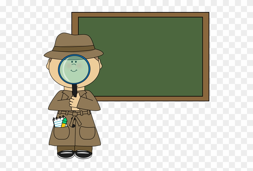 Room Clipart Inspector - Girl Detective Clipart #167091