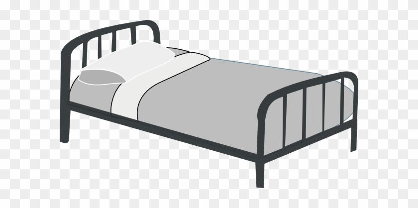 Black And White Clip Art Bed Un Lit Dessin Free Transparent Png Clipart Images Download