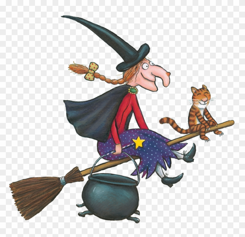 Witch Clipart Room - Room On The Broom Witch #167166