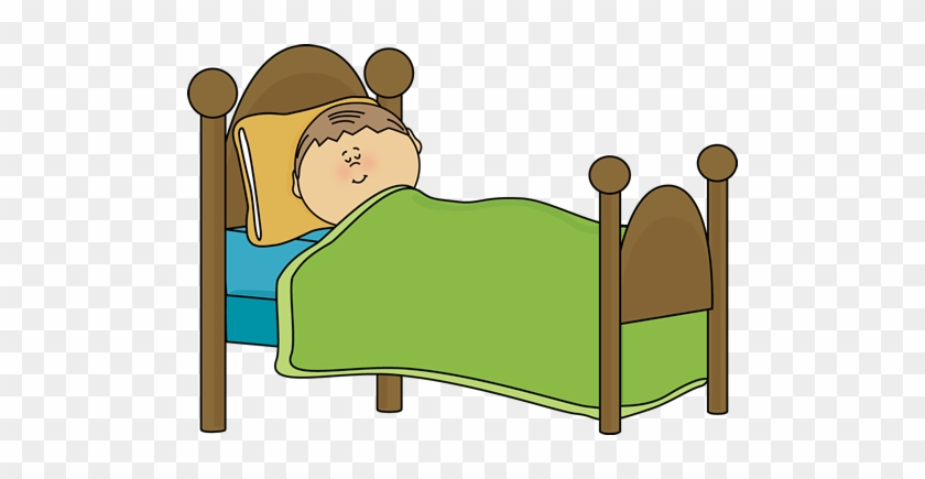 Cartoon Pictures Of People Sleeping Boy In Bed Clipart Free
