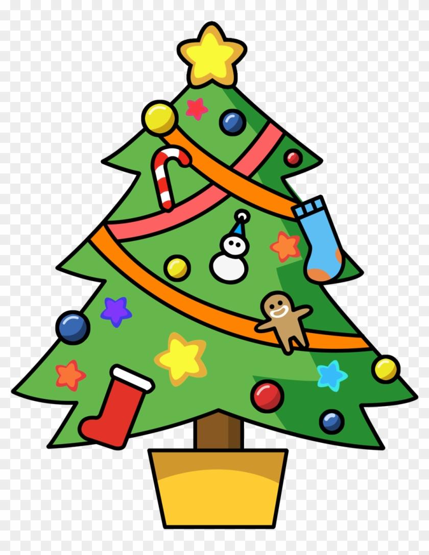 Snowman Dogs Cliparts - Christmas Tree Christmas Tree Christmas Tree Apron #167200