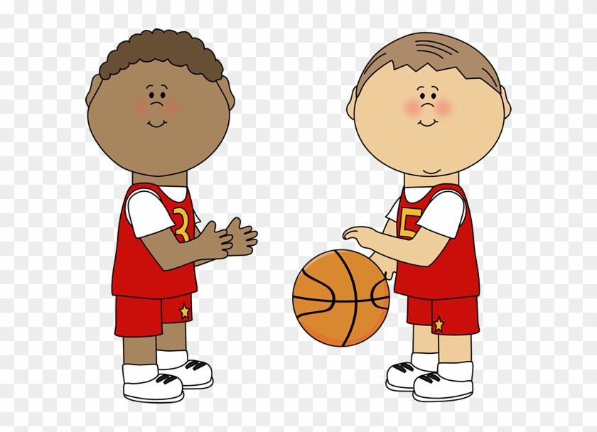Boy Playing Basketball Clipart Boys Clip Art Image - Boys Playing Basketball Clipart #167325