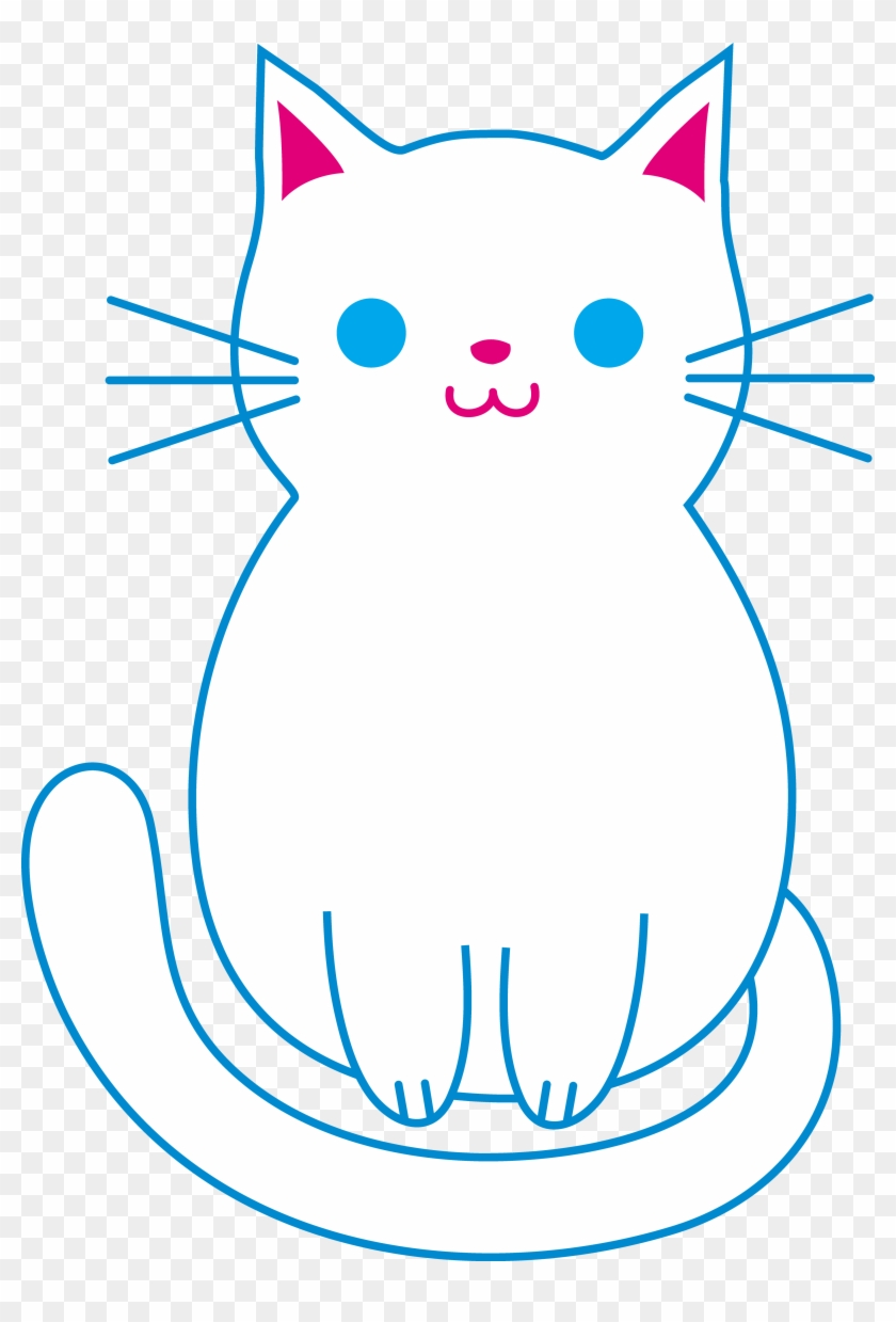 Easy Simple Cat Drawing