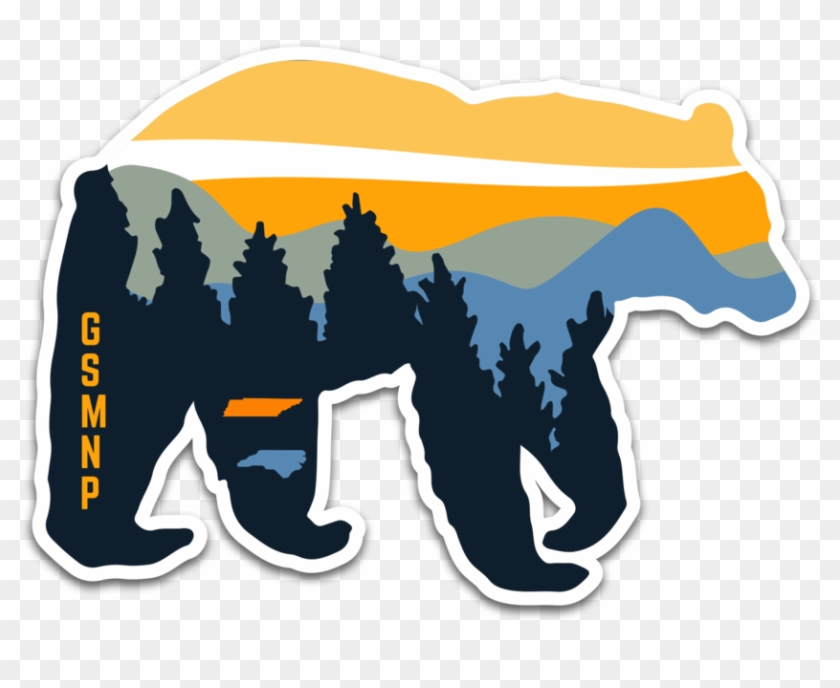 In The Same Year We've Celebrated The 100th Year Anniversary - Smoky Mountain National Park Sticker #167332
