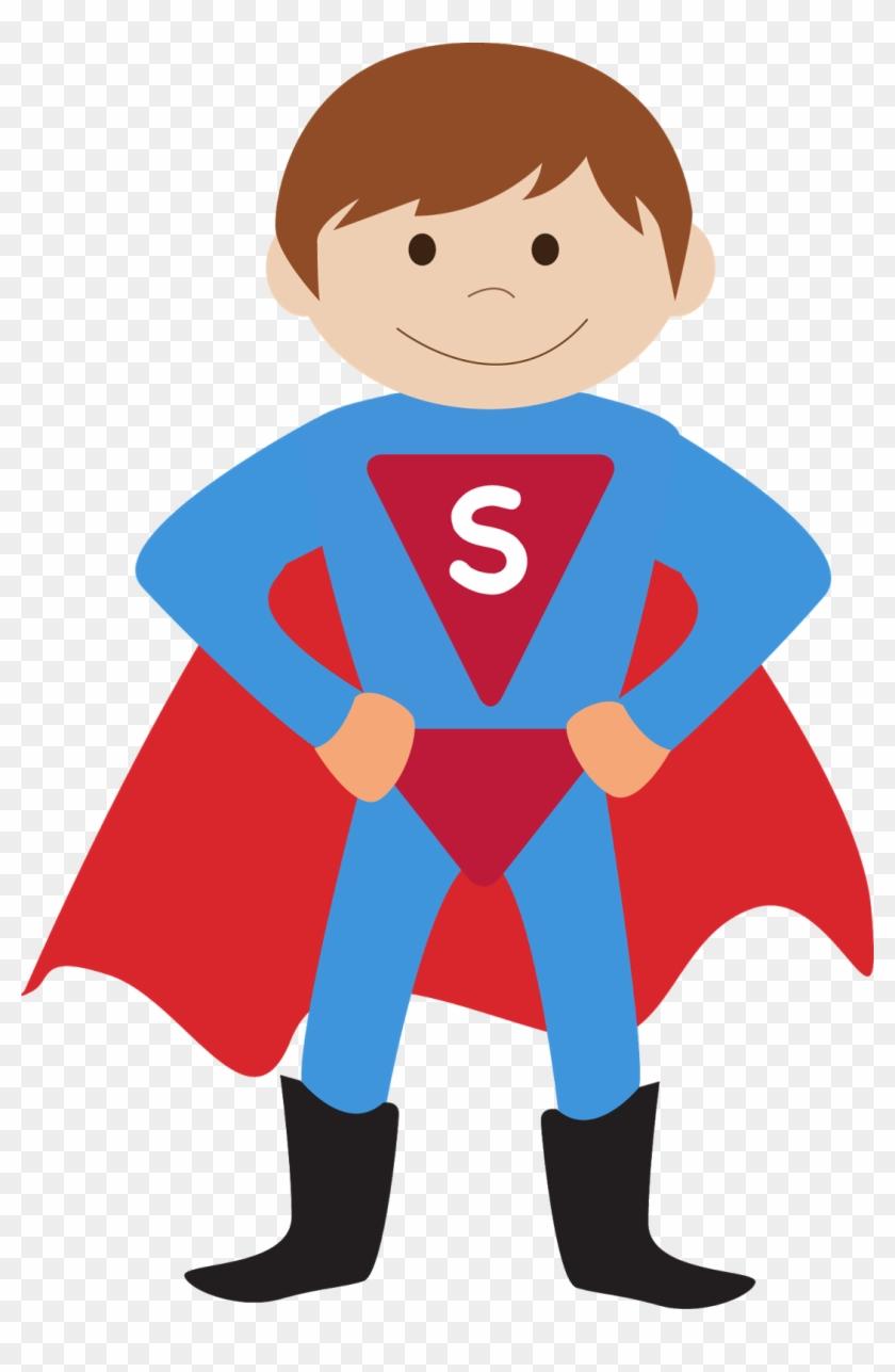Kids Dressed As Superheroes Clipart - Little Brother Superhero Travel Mug #167348