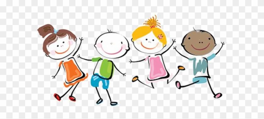 Kid Clipart Png - Happy Children Clipart #167390