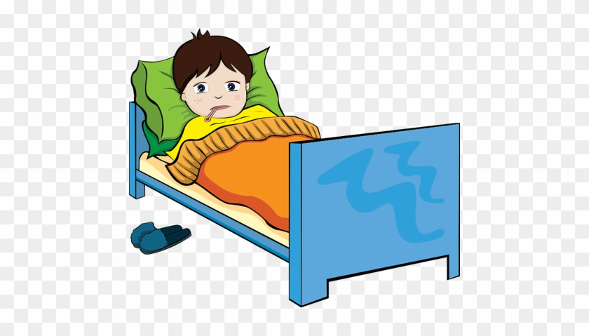 The Sick Boy - Sick Child Clipart Png #167420