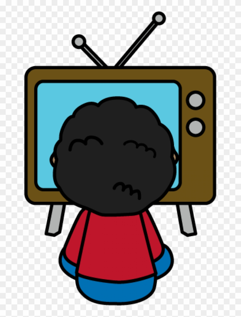 child watching tv clip art - watching tv clipart - free transparent