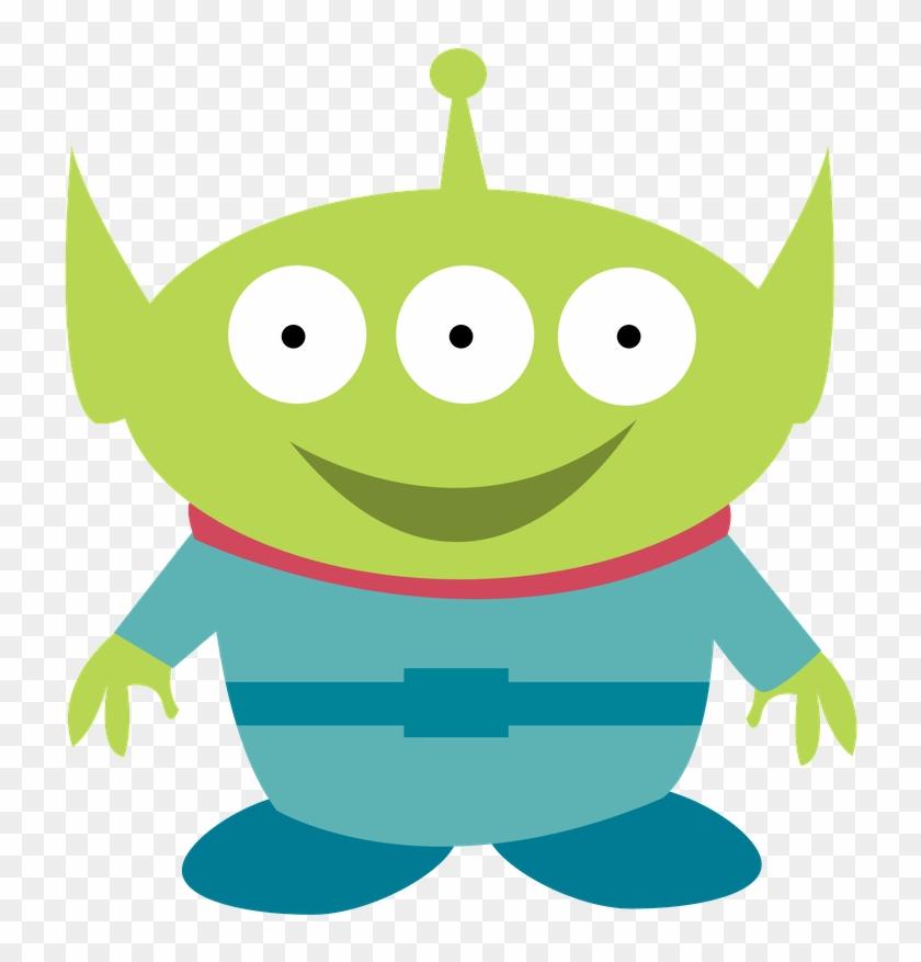 Más Imprimibles Gratis En Http - Toy Story Alien Clipart #167606