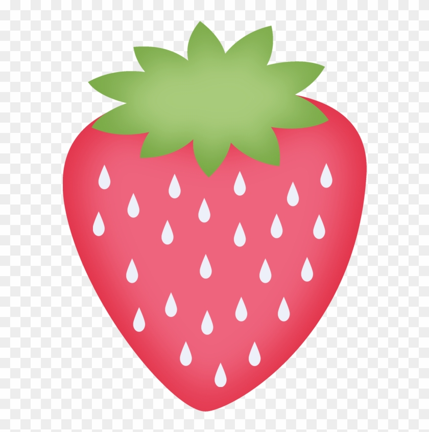 Say Hello Food Clipartfood Itemsstrawberriesfree - Strawberry Clipart #167731