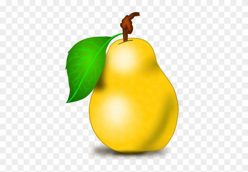 Pear Clip Art Png - Pear Fruit Clipart #167737