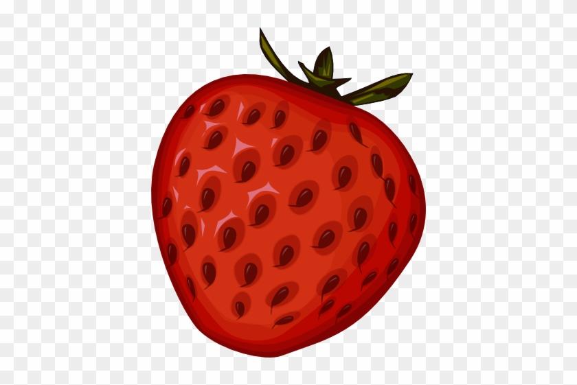 Strawberry Clipart Transparent - Fruits Clip Arts Png #167844