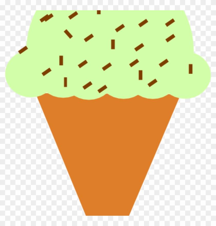 Ice Cream Cone Clip Art Ice Cream Cone With Sprinkles - Ice Cream Cone #167987