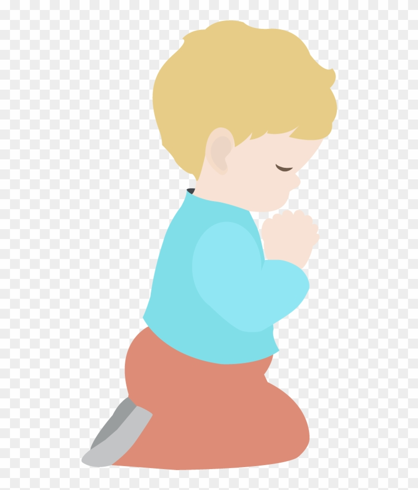Lds Prayer Coloring Page - Child Praying Clipart #168223