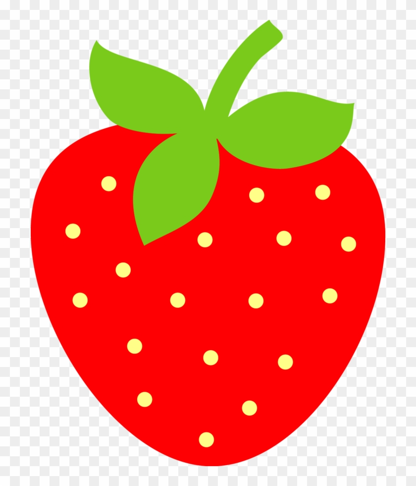 Fruit Clipart - Cute Strawberry Clipart #168307