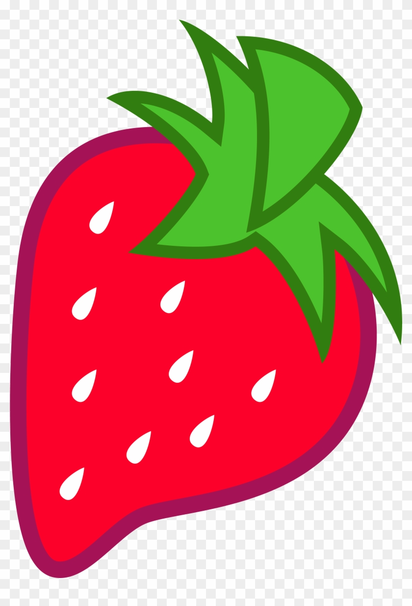 The Gallery For > Cute Strawberry Clipart Png - Mlp Berry Cutie Mark #168362