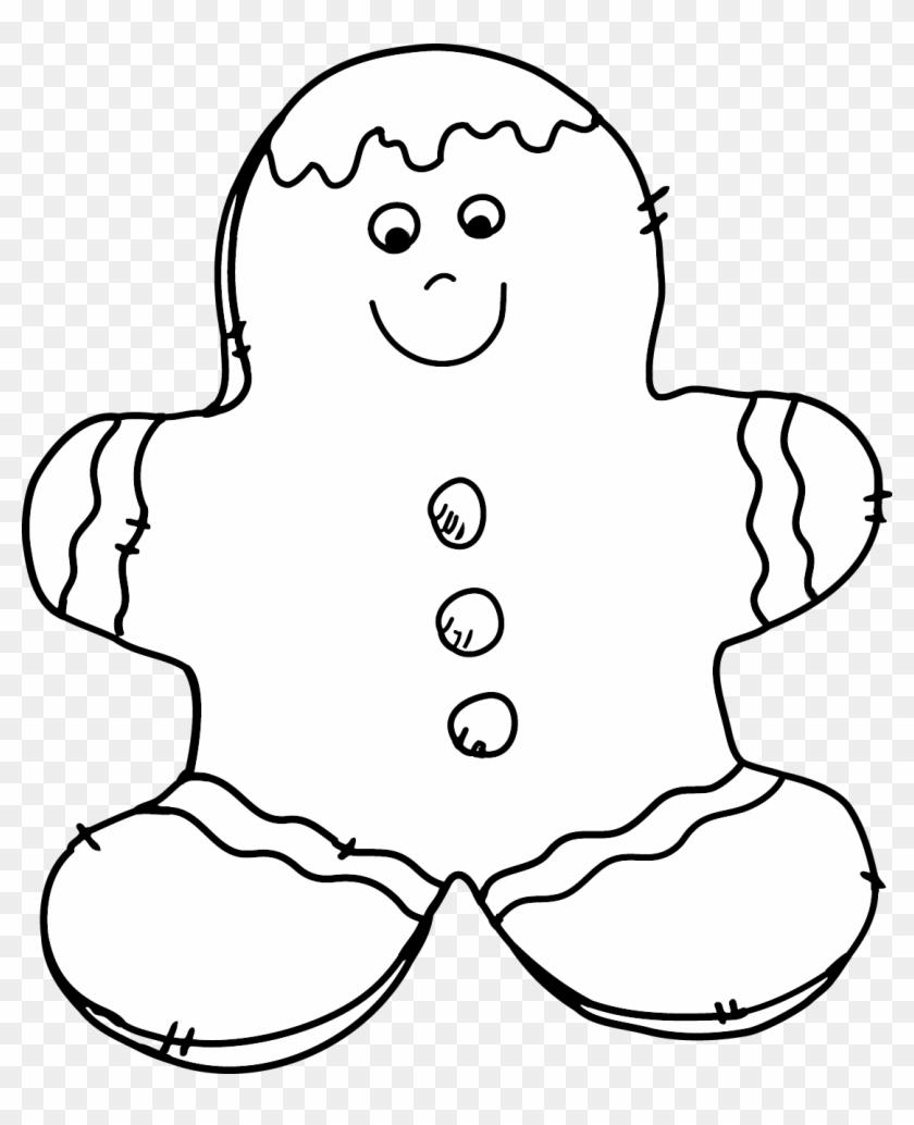 Enjoy This Gingerbread Man Freebie - Cookie #168403