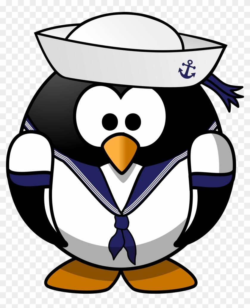 Image For Sailor Penguin Animal Clip Art Animal Clip - Penguin Sailor #168411