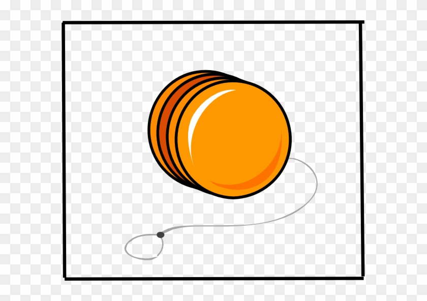 Yo Yo Clip Art - Orange Yoyo Clipart - Free Transparent PNG