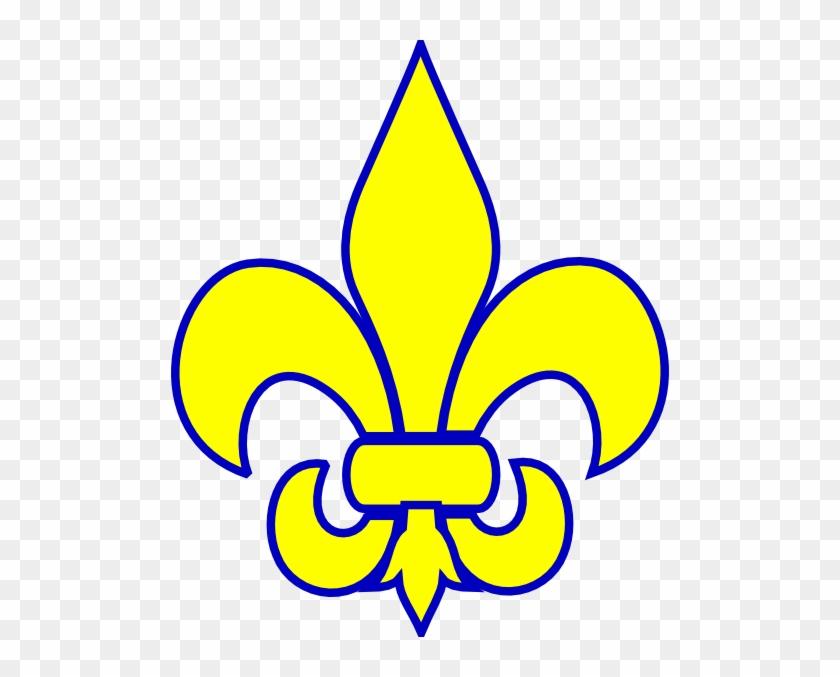 Scout Clip Art Scout Clip Art Clip Art, Gold And - Cub Scout Fleur De Lis Clip Art #168593