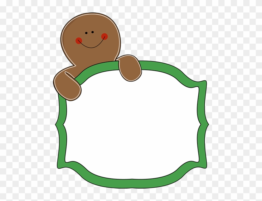 Gingerbread Cookie Clipart Gingerbread House Border Clipart Free