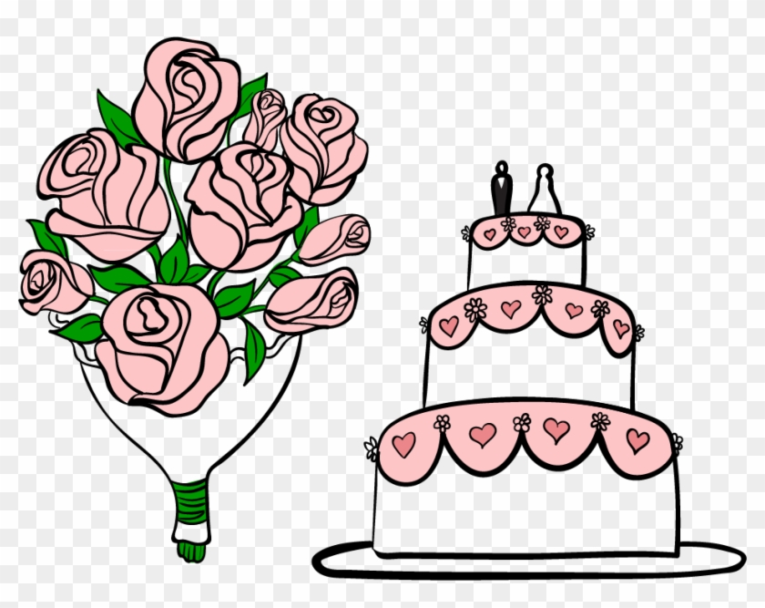Wedding Cake Clip Art - Wedding #168685
