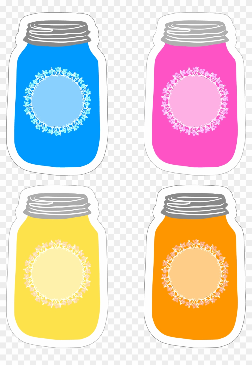 photograph relating to Printable Mason Jar Label identified as Lovely Printable Mason Jar Labels Dangle Tags Blank Lid - Cost-free
