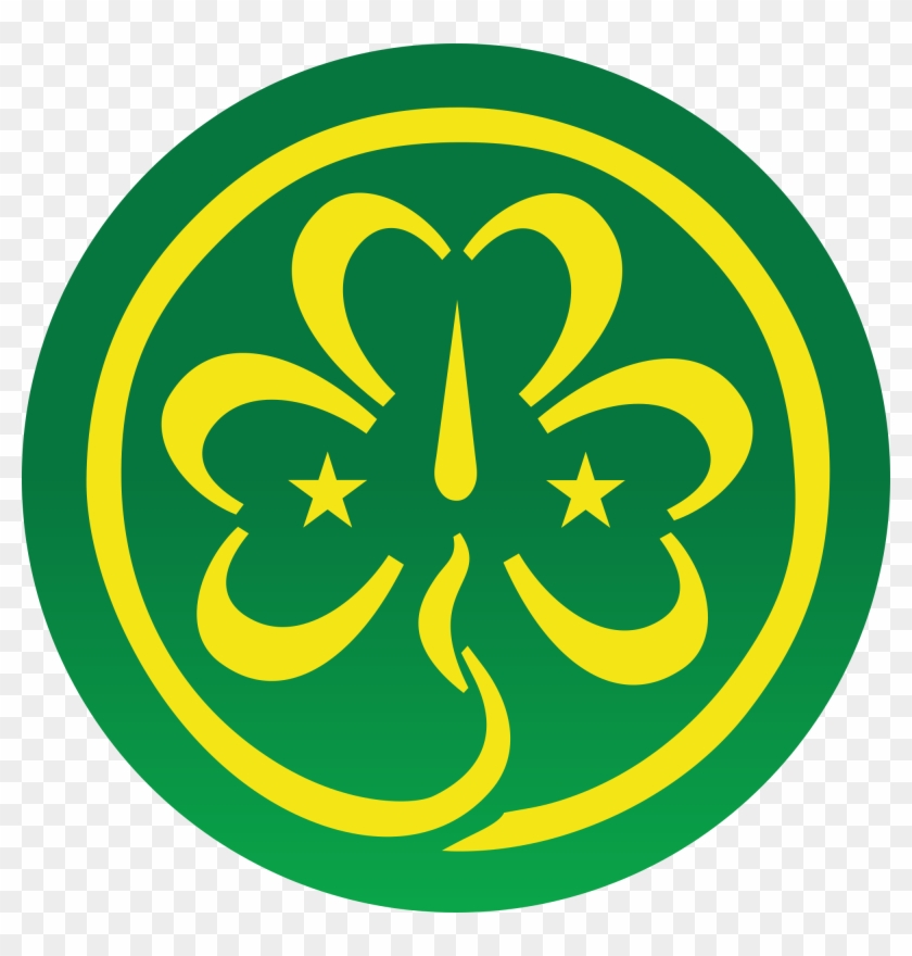 Girl Scout Trefoil Clipart - World Association Of Girl Guides And Girl Scouts #168788