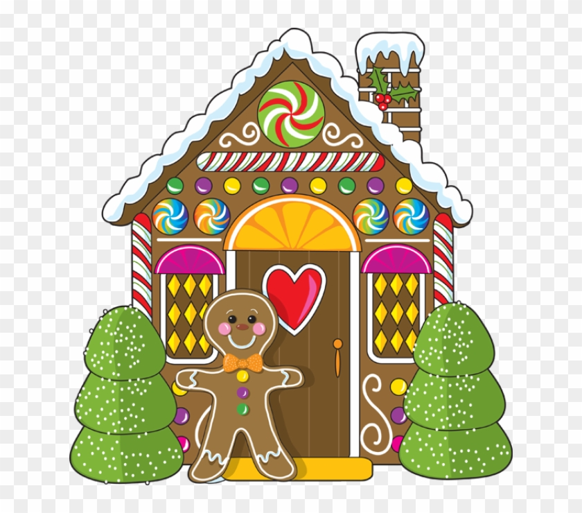 Christmas - Christmas Gingerbread House Clipart #168932