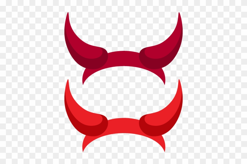 Printable Devil Horns Photo Booth Prop - Clip Art Devil Horns #169071