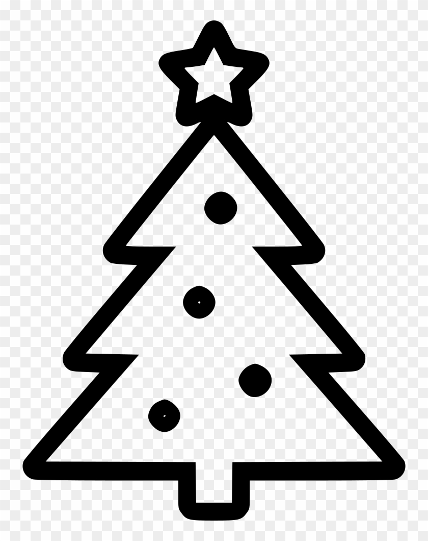 Christmas New Year Tree Comments - Christmas Tree Icon Png #169172
