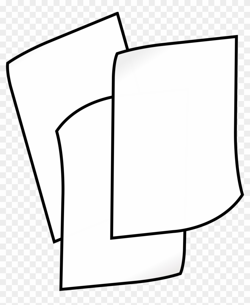 of white paper - clip art black and white paper - free transparent
