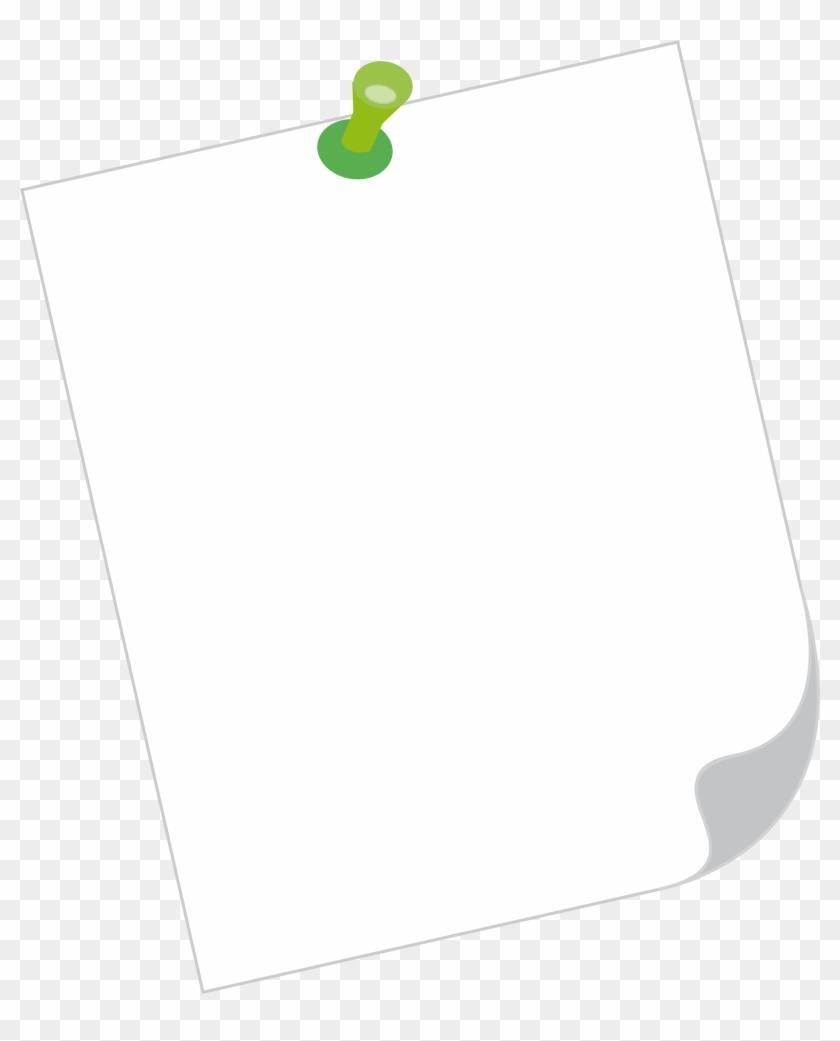 Note Paper Clipart - Construction Paper #169456