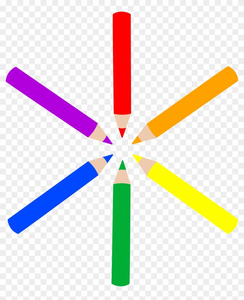 Pencil Clip Art - Coloring Pencils Clip Art #169608